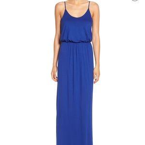 Lush royal blue maxi dress